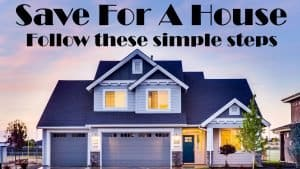 Save for a house