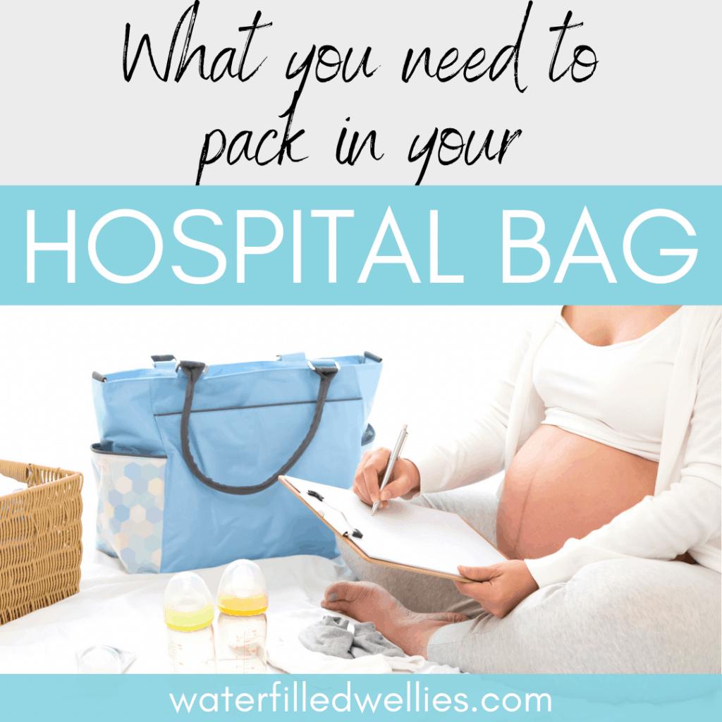 Hospital Bag freebies